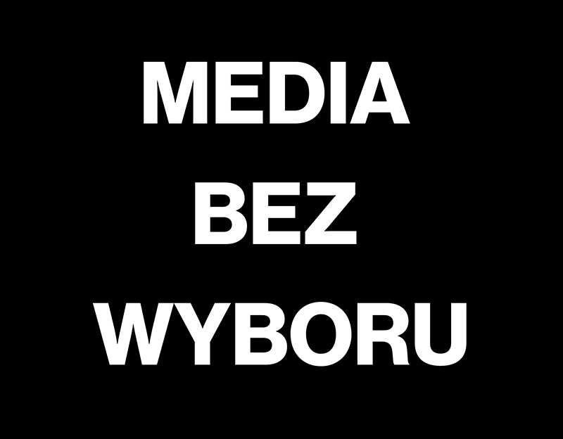 MAIK MEDIA BEZ WYBORU pop up